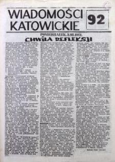 Wiadomości Katowickie, 1981, nr92