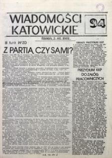Wiadomości Katowickie, 1981, nr94