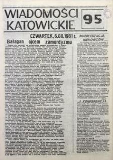 Wiadomości Katowickie, 1981, nr95