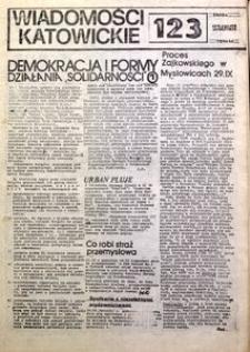 Wiadomości Katowickie, 1981, nr123