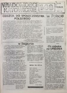 Wiadomości Katowickie, 1981, nr148