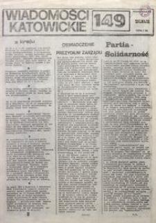 Wiadomości Katowickie, 1981, nr149