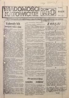 Wiadomości Katowickie, 1981, nr160