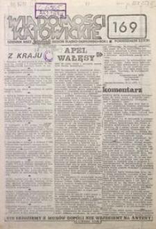 Wiadomości Katowickie, 1981, nr169