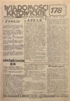 Wiadomości Katowickie, 1981, nr178
