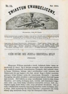Zwiastun Ewangeliczny, 1864, nr14