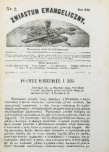 Zwiastun Ewangeliczny, 1866, nr2