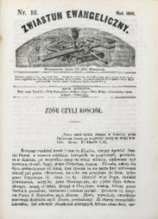 Zwiastun Ewangeliczny, 1866, nr16