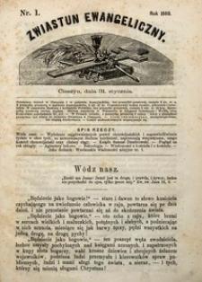 Zwiastun Ewangeliczny, 1869, nr1