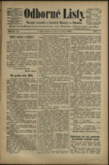 Odborné listy : časopis horníků a hutniků Moravy a Slezska, 1895, č. 1-19