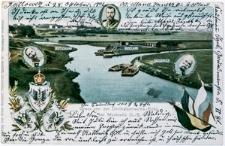 Gruss von der Dreikaiserreichs-Ecke bei Myslowitz O.-S.