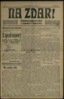 Nazdar! : ustřední orgán horniků a hutniků v Rakousku, 1906, č. 1-36