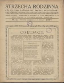 Strzecha Rodzinna, 1928, R. 5, nr 1/2