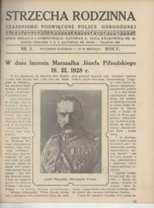 Strzecha Rodzinna, 1928, R. 5, nr 5