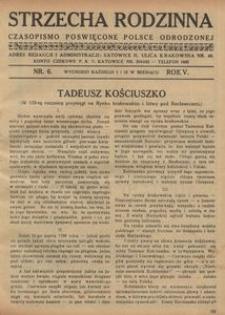 Strzecha Rodzinna, 1928, R. 5, nr 6