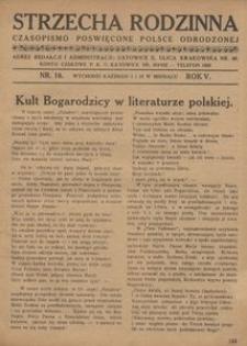 Strzecha Rodzinna, 1928, R. 5, nr 10