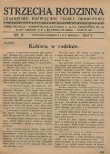 Strzecha Rodzinna, 1928, R. 5, nr 18