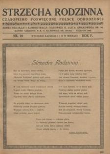 Strzecha Rodzinna, 1928, R. 5, nr 19