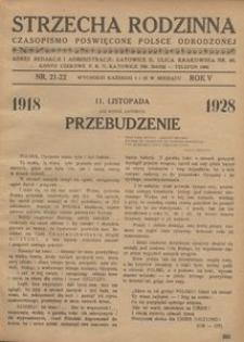 Strzecha Rodzinna, 1928, R. 5, nr 21/22