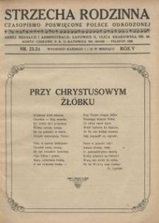 Strzecha Rodzinna, 1928, R. 5, nr 23/24