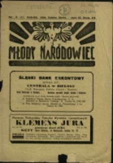 Młody Narodowiec, 1931, Nry 3, 5, 10-11