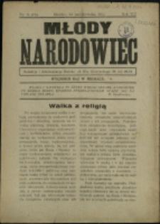 Młody Narodowiec, 1937, Nry 9-11