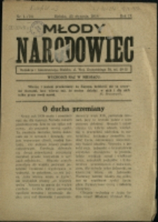 Młody Narodowiec, 1938, Nry 1, 3-11/12