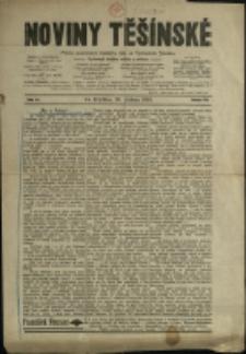 Noviny těšínské : pismo posvěcené českému lidu ve Východním Slezsku, 1910, č. 41