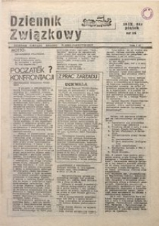 Dziennik Związkowy, 1981, nr14