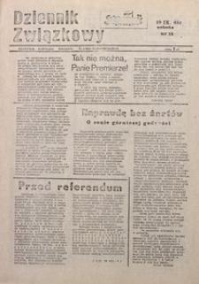 Dziennik Związkowy, 1981, nr15