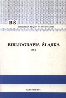 Bibliografia Śląska 1984