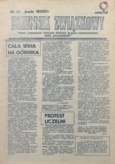 Dziennik Związkowy, 1981, nr61