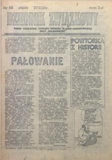 Dziennik Związkowy, 1981, nr68