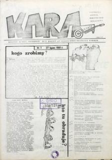KARA, 1981, nr 1
