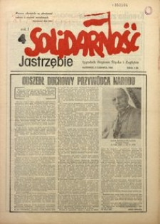 Solidarność Jastrzębie, 1981, Rok 1, nr4