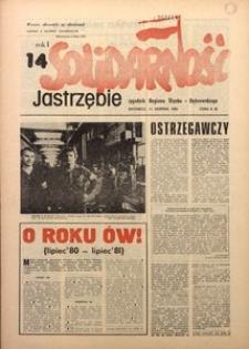 Solidarność Jastrzębie, 1981, Rok 1, nr14