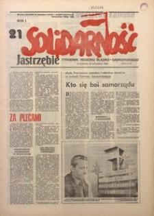 Solidarność Jastrzębie, 1981, Rok 1, nr21