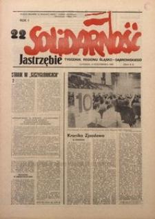 Solidarność Jastrzębie, 1981, Rok 1, nr22