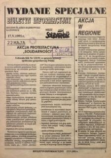 Biuletyn Informacyjny, 1991, wydanie specjalne (17.05)