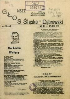Głos Śląsko-Dąbrowski, 1982, nr 3-4
