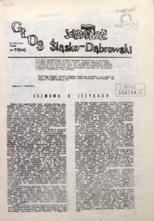 Głos Śląsko-Dąbrowski, 1988, nr 11