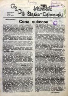 Głos Śląsko-Dąbrowski, 1988, nr 12