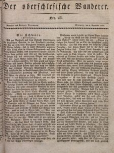 Der Oberschlesische Wanderer, 1830, Jg. 3, nr45