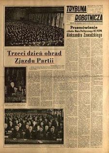 Trybuna Robotnicza, 1954, nr61