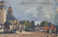 Częstochowa. Wystawa Przemysłu i Rolnictwa. 1909. Pawilon Główny. Pawilon Ogólno-Kulturalny