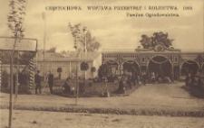 Częstochowa. Wystawa Przemysłu i Rolnictwa. 1909. Pawilon Ogrodownictwa