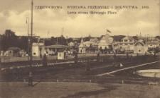 Częstochowa. Wystawa Przemysłu i Rolnictwa. 1909. Lewa strona Głównego Placu