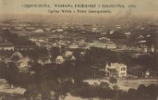 Częstochowa. Wystawa Przemysłu i Rolnictwa. 1909. Ogólny widok z Wieży Jasnogórskiej