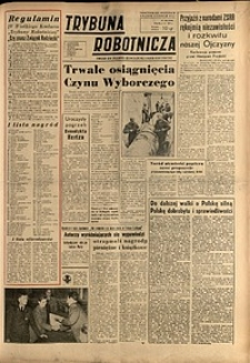 Trybuna Robotnicza, 1952, nr265