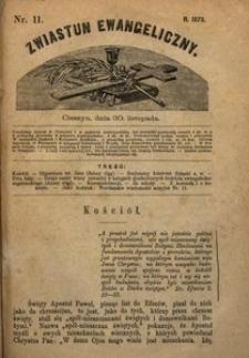 Zwiastun Ewangeliczny, 1873, nr11